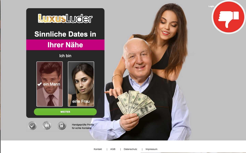 Testbericht Luxus-Luder.com Abzocke