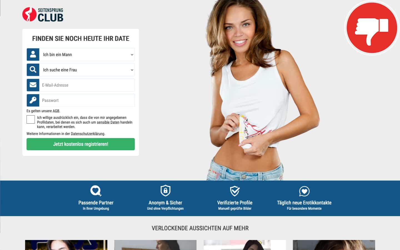 Testbericht SeitensprungClub.de Abzocke