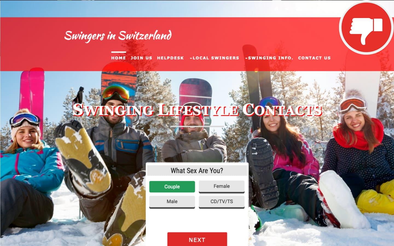 Testbericht Swingers-In-Switzerland.com Abzocke