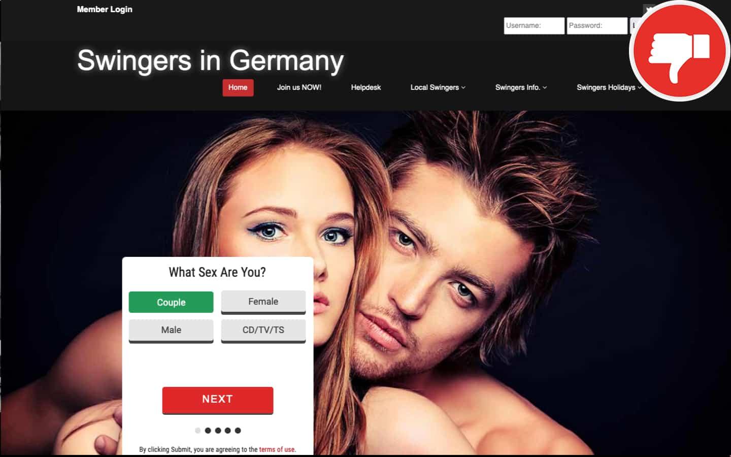 SwingersInGermany.com Erfahrungen Abzocke