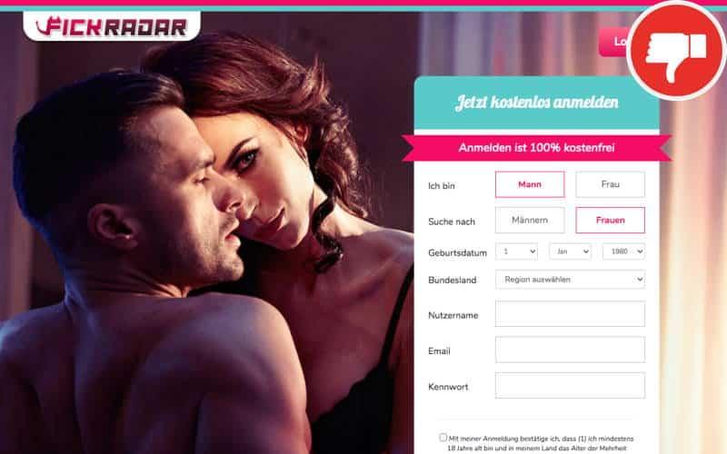 FickRadar.com Erfahrungen Abzocke
