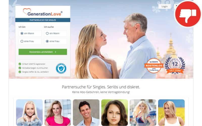 GenerationLove.com Erfahrungen Abzocke