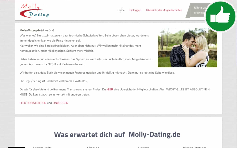 Testbericht Molly-Dating.de Abzocke