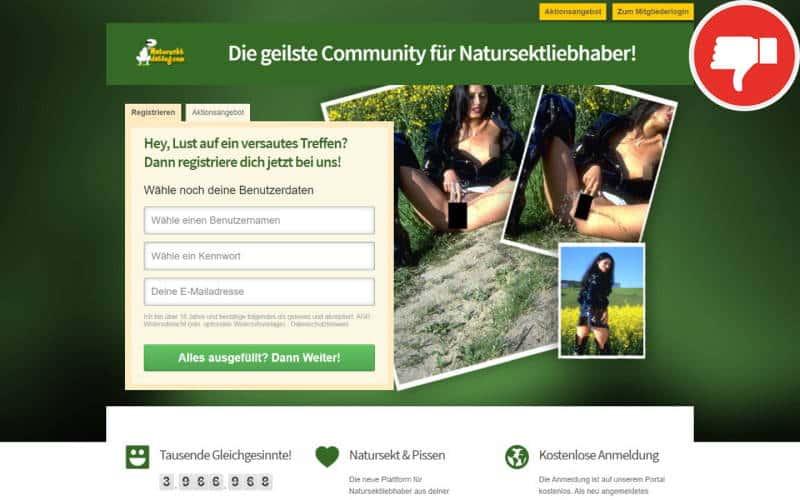 Testbericht NaturSektDating.com Abzocke