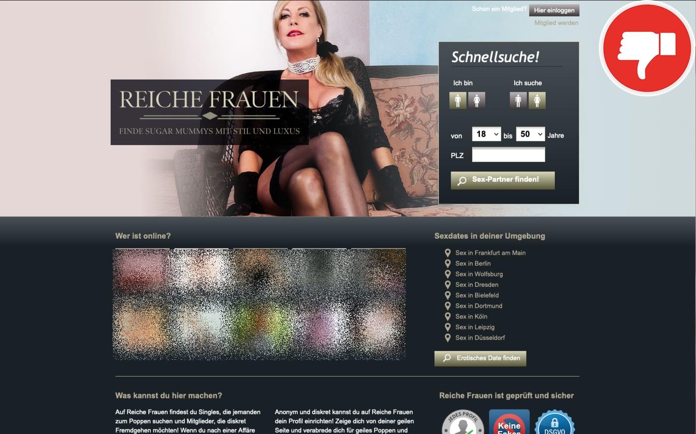 ReicheFrauen.net Erfahrungen Abzocke