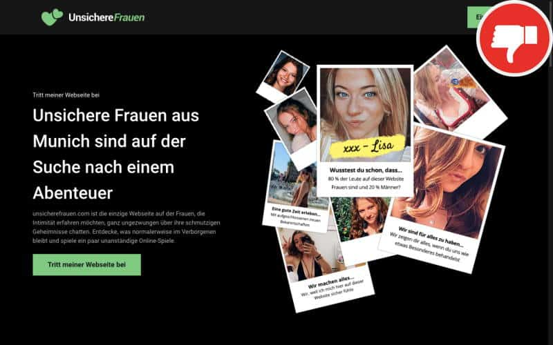 Testbericht UnsichereFrauen.com Abzocke