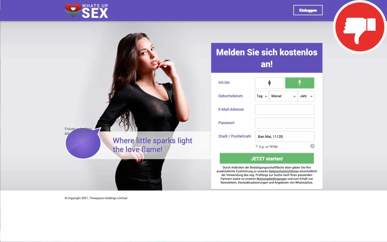WhatsUpSex.com Erfahrungen Abzocke