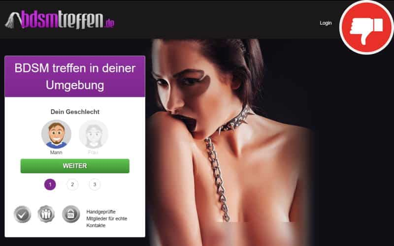 BDSMTreffen.de Erfahrungen Abzocke