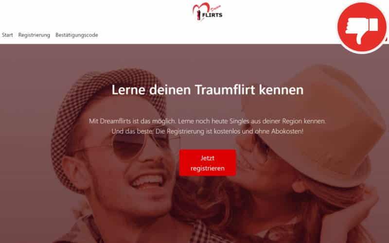 Testbericht DreamFlirt.de Abzocke