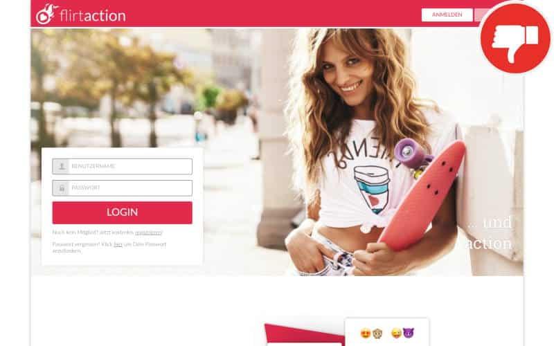 Testbericht FlirtAction.com Abzocke