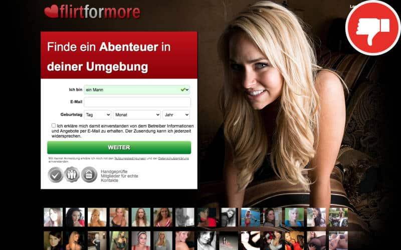 Testbericht FlirtForMore.de Abzocke