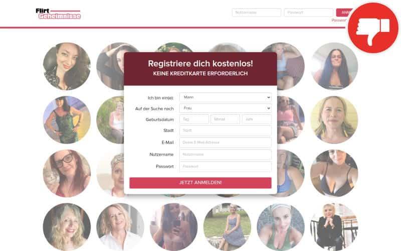 Testbericht FlirtGeheimnisse.com Abzocke