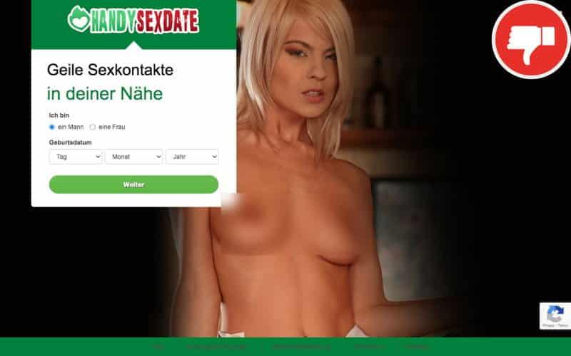 Handy-Sexdate.com Erfahrungen Abzocke