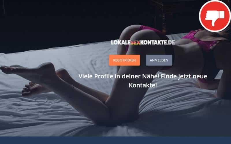 LokaleSexKontakte.de Erfahrungen Abzocke
