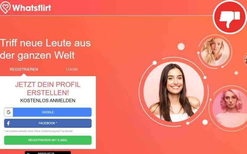 WhatsFlirt.com Erfahrungen Abzocke