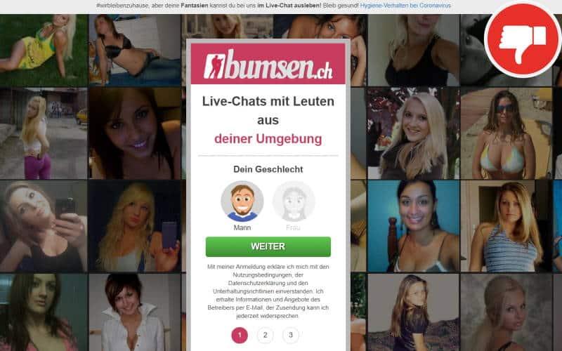 Bumsen.ch Erfahrungen Abzocke