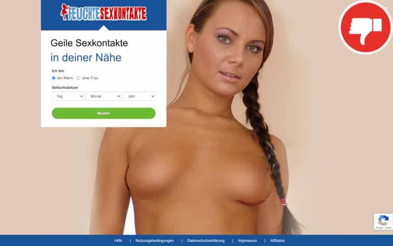 Feuchte-Sexkontakte.com Erfahrungen Abzocke
