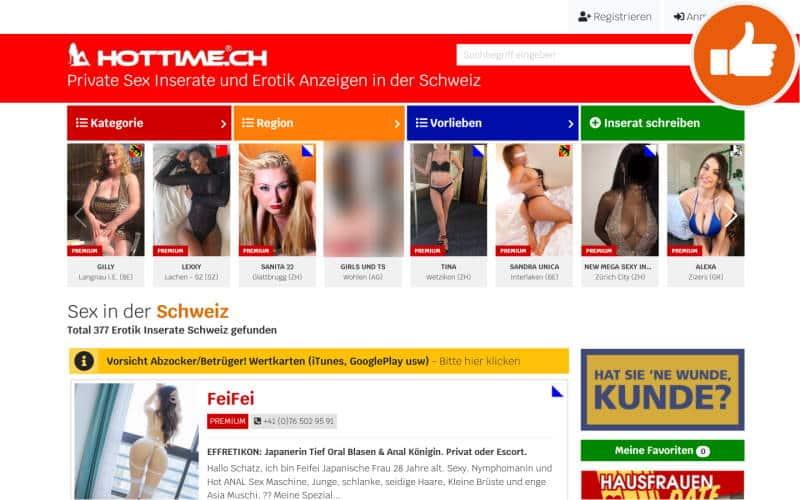 HotTime.ch Erfahrungen Abzocke
