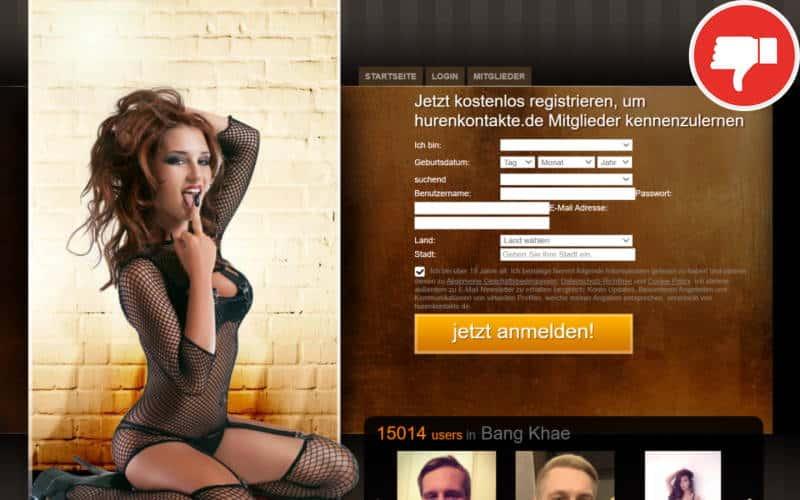 HurenKontakte.de Erfahrungen Abzocke