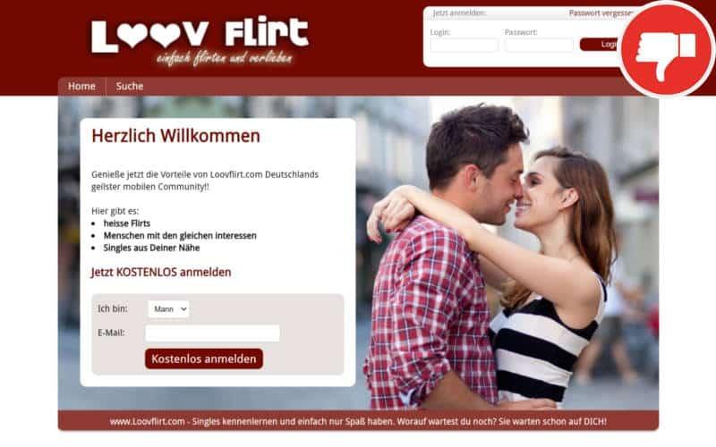 Testbericht LoovFlirt.com Abzocke