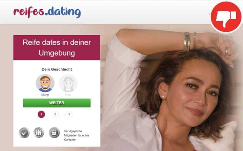 Testbericht Reifes.dating Abzocke