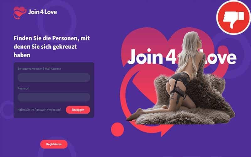 Testbericht Join4Love.com Abzocke