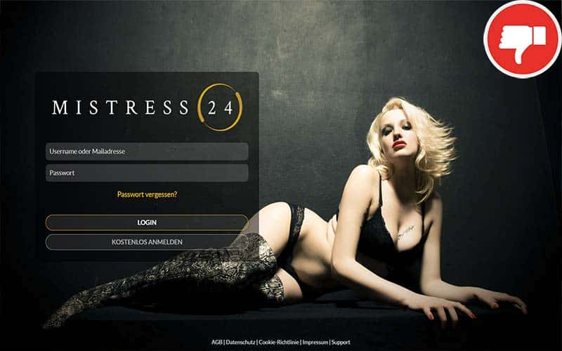 Testbericht Mistress24.com Abzocke