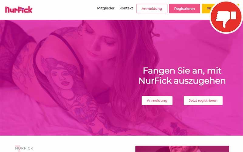 NurFick.com Erfahrungen Abzocke